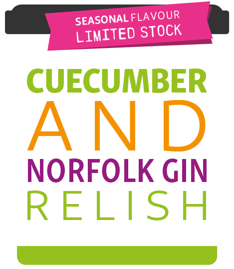 Cuecumber and Norfolk Gin Relish